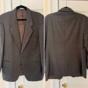 Vintage Yves Saint Laurent Wool Blazer